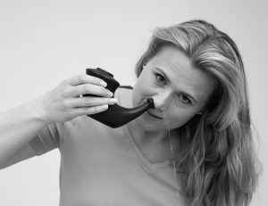 Rhino Horn nose cleansing